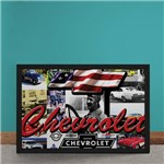 Quadro Decorativo Carro Chevrolet Estados Unidos