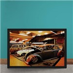Quadro Decorativo Carro Volkswagen Rat Look