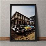 Quadro Decorativo Carros em Havana