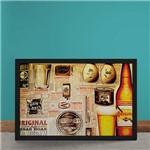 Quadro Decorativo Cerveja Antartica Original Boteco