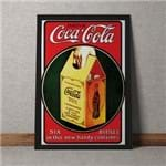 Quadro Decorativo Coca Cola 35x25