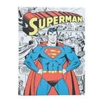 Quadro Decorativo Colorido Superman Clássico 30x40cm Urban