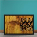 Quadro Decorativo Creedence Clearwater Revival Madeira