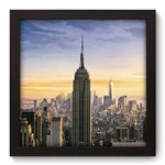 Quadro Decorativo Empire State N5049 22cm X 22cm