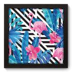 Quadro Decorativo Flamingo N5036 22cm X 22cm