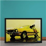 Quadro Decorativo Ford Maverick V8