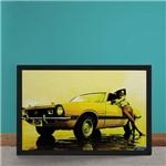 Quadro Decorativo Ford Maverick V8