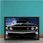 Quadro Decorativo Ford Mustang 1969