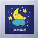 Quadro Decorativo Infantil Boa Noite - Good Night