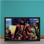 Quadro Decorativo Iron Maiden Ed Hunter Gangster
