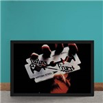Quadro Decorativo Judas Priest British Steel