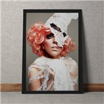 Quadro Decorativo Lady Gaga
