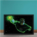 Quadro Decorativo Lanterna Verde Animated Series Dc Comics