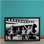 Quadro Decorativo Led Zeppelin Embarcando