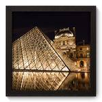 Quadro Decorativo Louvre N5035 22cm X 22cm