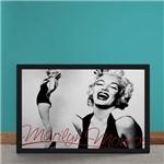 Quadro Decorativo Marilyn Monroe Autografo