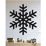 Quadro Decorativo Parede Diversos Floco de Neve 02 60cm