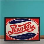 Quadro Decorativo Pepsi Cola Canada Vintage