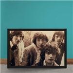 Quadro Decorativo Pink Floyd Fotografia Antiga