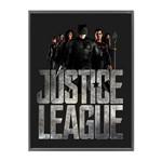 Quadro Decorativo Preto Liga da Justiça Urban