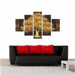 Quadro Decorativo Quarto Sala Home Quadro - 114x65 Cm 5p