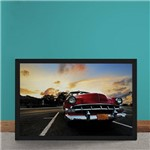 Quadro Decorativo Red Muscle Car Havana