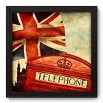 Quadro Decorativo Reino Unido N5053 22cm X 22cm