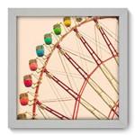 Quadro Decorativo Roda Gigante N1051 22cm X 22cm