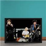 Quadro Decorativo Rolling Stones Foco Show