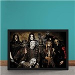Quadro Decorativo Slipknot Duality