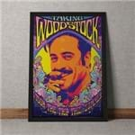 Quadro Decorativo Taking Woodstock Vintage Quadro Decorativo Woodstock Vintage 35x25