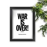 Quadro Decorativo The Beatles War Is Over
