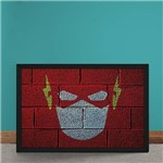 Quadro Decorativo The Flash Mural Minimalista Chapiscado Dc Comics