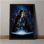 Quadro Decorativo Thor Marvel