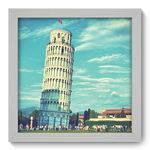 Quadro Decorativo Torre de Pisa N1004 22cm X 22cm