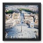 Quadro Decorativo Vaticano N6023 33cm X 33cm