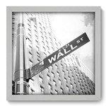 Quadro Decorativo - Wall Street - N2070 - 33cm X 33cm