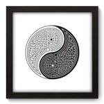 Quadro Decorativo - Yin Yang - N5082 - 22cm X 22cm