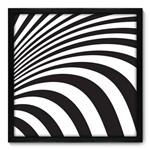 Quadro Decorativo - Zebra - N7037 - 50cm X 50cm