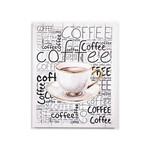 Quadro em MDF Coffee 40 X 50 X 2,5 Cm QD6970