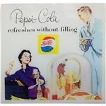 Quadro Frente Vidro Refreshes Pepsi 50x50x7cm - Fullway
