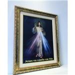 Quadro Jesus Misericordioso Parede Religioso para Sala