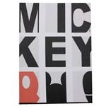 Quadro Mickey Tipografia