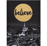Quadro Paris Believe 6350 com Glitter Mart