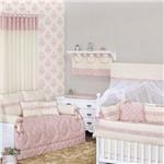 Quarto de Bebê Dream Rosê 24 Peças