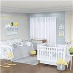 Quarto de Bebê Forest Azul 28 Peças