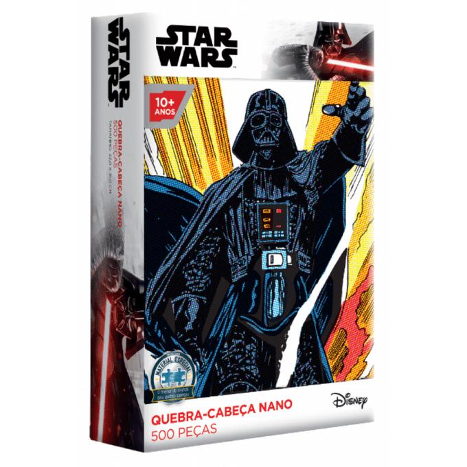 Quebra-Cabeça 500 Peças Nano - Star Wars - Darth Vader - Toyster - TOYSTER