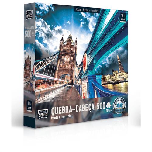 Quebra-cabeça 500 Peças - Tower Bridge - Londres