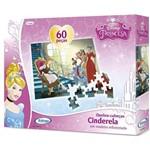 Quebra-Cabeca 60 Peças Cinderela Disney