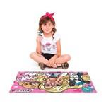 Quebra Cabeça Barbie 120 Peças Toyster